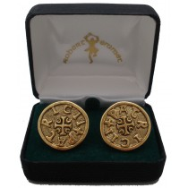 St. Patrick Coin Cuff Links