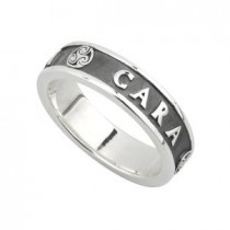 Sterling Silver Ladies MO ANAM CARA Irish Ring