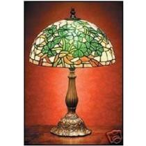 Multi Colored Irish Shamrocks Tiffany Lamp