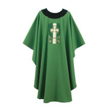 Celtic Cross Design Irish Chasuble