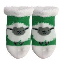 Wooly Sheep Irish Baby Booties
