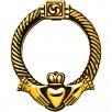Irish Claddagh Brass Doorknocker