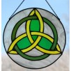 Irish Trinity Knot Suncatcher