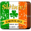 Personalized Irish Coasters