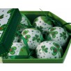 Shamrock & Hearts Christmas Ornaments Set of 7 Baubles