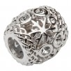 Snow Flake Irish Celtic Charm Bead