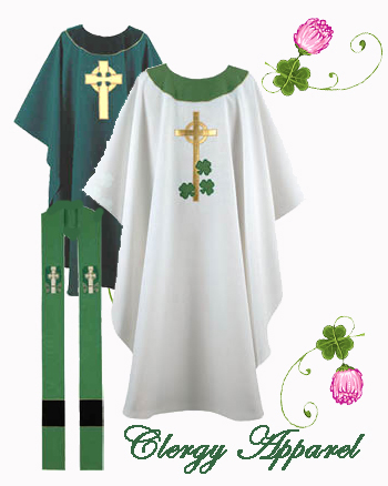 irish clergy apparel