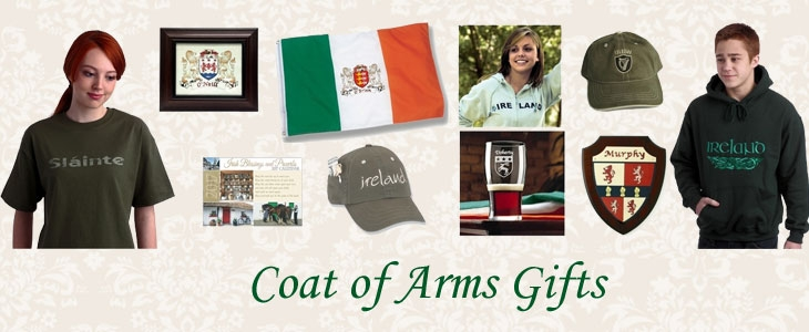 Irish Coat of Arms Gifts