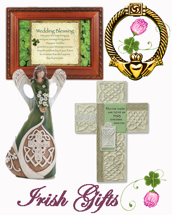 irish gifts, fine bone china, galway crystal, irish jewelry