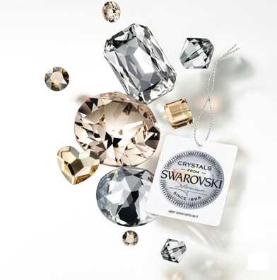 swarovski crystals irish jewelry
