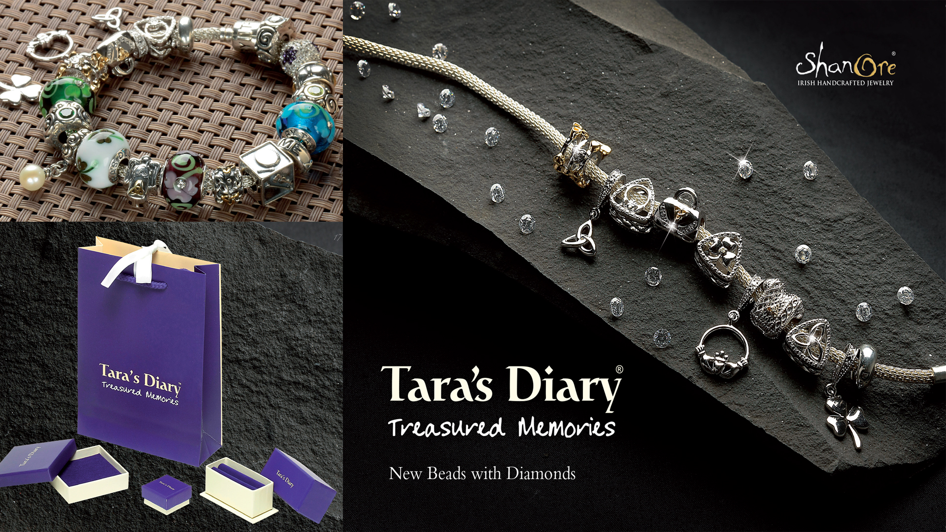 Tara's Diary Irish Beads and Charms by Shanore Jewelers